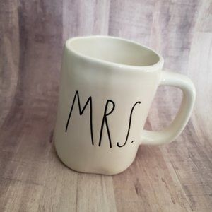 Rae Dunn Mrs. Coffee Mug White BRAND NEW!